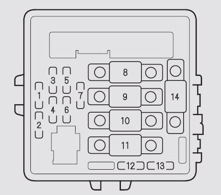 Acura NSX (2002 - 2005) - fuse box diagram  🔧 Fuses Guru   Acura Nsx Fuse Box Location      Fuses Guru