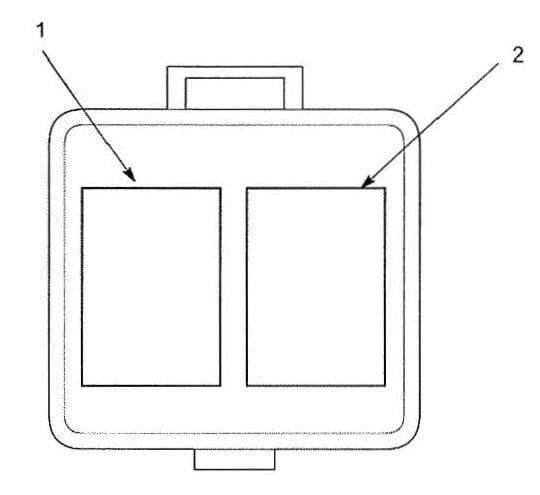 Acura TL - fuse box diagram - connector to multi relay box