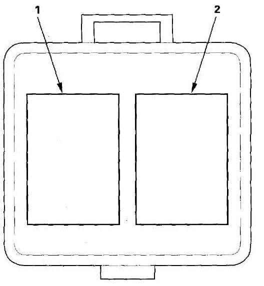 Acura TL - fuse box diagram - under-hood multi relay box