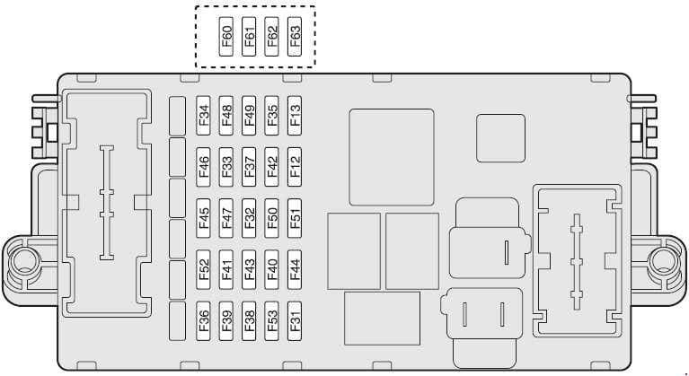 Alfa Romeo 147 - fuse box diagram - dashboard