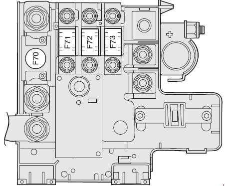 Alfa Romeo 159 - battery positive pole