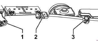 Audi A6 - fuse box diagram - fuse in plenum chamber