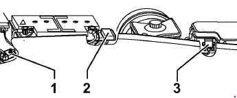Audi RS6 – fuse box diagram – fuse in plenum chamber