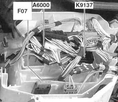 BMW 3-Series (E90, E91, E92, E93) - fuse box diagram - engine electronics fuses