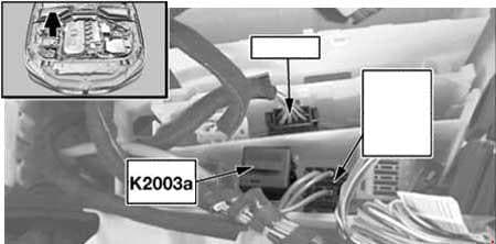 BMW 5-Series - fuse box diagram - DDE main relay - M57