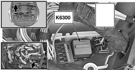 BMW 5-Series - fuse box diagram - DDE relay - M52