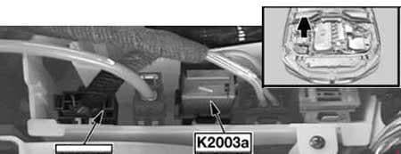 BMW 6-Series (E63 and E64) - fuse box diagram - DDE main relay (K20030a) - M57, M57 TUTOP, M47 TU2