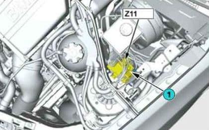BMW X3 - fuse box diagram - power distribution box