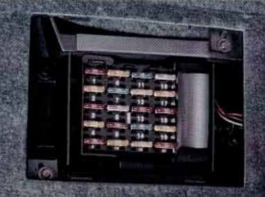 Buick River - fuse box diagram - passenger compartment (left side)