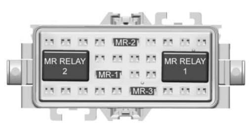 Chevrolet Express - fuse box - auxiliary block