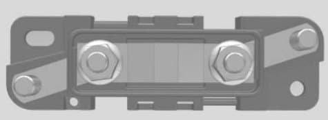 Chevrolet Express - fuse box - mega fuse holder