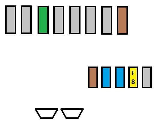 Citroen C4 Picasso - fuse box - battery