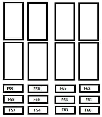 Citroen Jumper - fuse box - driver's pillar