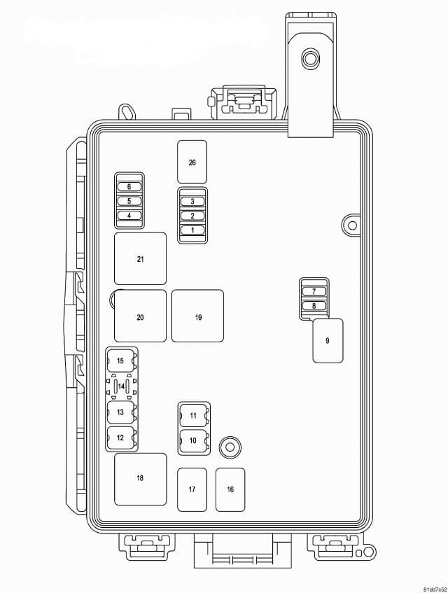 Dodge Challenger RT/SRT Third Generation - integrated power module