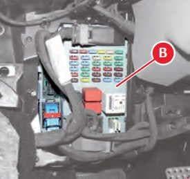 Ferrari 458 - fuse box diagram - body computer