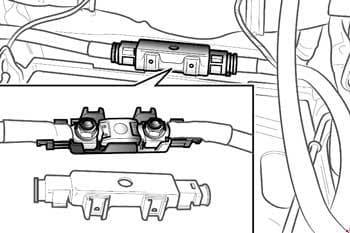 Ferrari F430 - fuse box diagram - megafuses