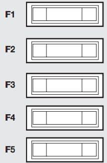 Fiat Scudo mk2 - fuse box - optional box