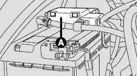 Fiat Ducato - fuse box diagram - battery fuse box
