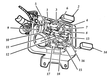 Ford Aerostar - fuse box
