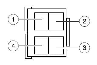 Ford E-Series - E150 - fuse box - engine compartment - relay module