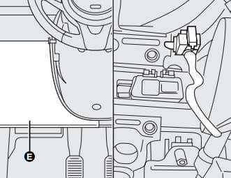 Ford Ka mk2 (2008) - dodatkowy bezpiecznik