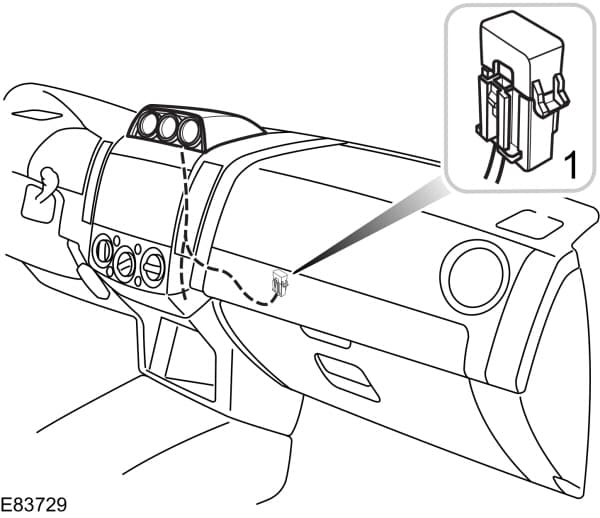 Ford Ranger mk2 (2006) - Inclinometer and compass fuse
