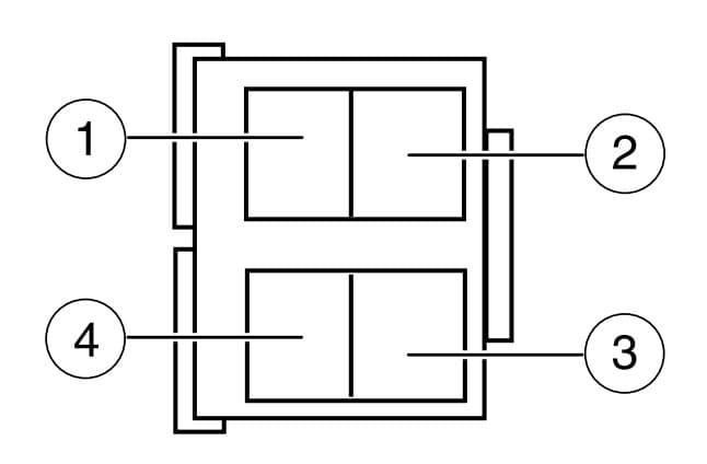 Ford E250 - fuse box -  engine compartment relay module