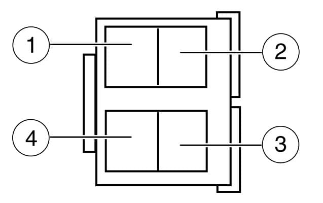 Ford E250 - fuse box -  instrument panel relay module