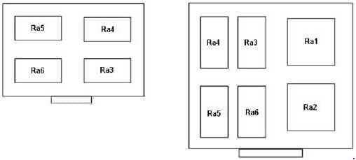 Ford Transit - fuse box diagram - additional relay box/under expansion tank