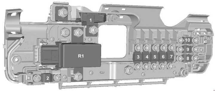 Ford Transit - fuse box diagram - prefuse