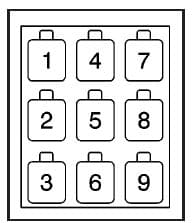 GMC T-series - fuse box - relay block A