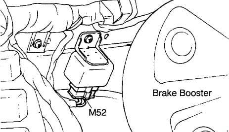 Hyundai H100 - fuse box diagram - MFI control relay