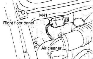 Hyundai H100 - fuse box diagram - starter relay