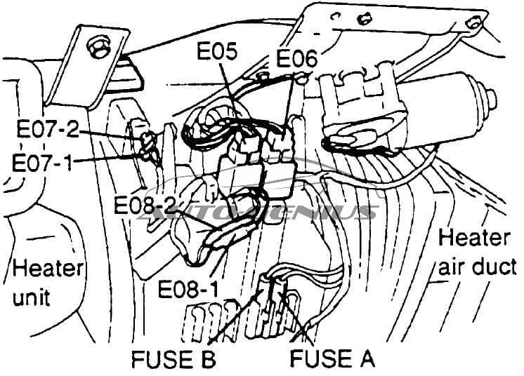 Hyundai Porter (AU) - fuse box diagram - A/C fuse