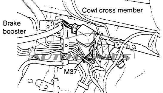 Hyundai Porter (AU) - fuse box diagram - fuel filter relay (M37)