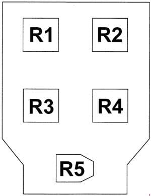 Hyundai Porter - fuse box diagram