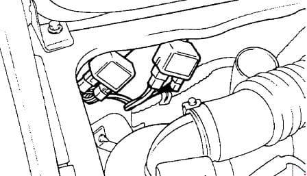 Hyundai Porter - fuse box diagram - starter relay