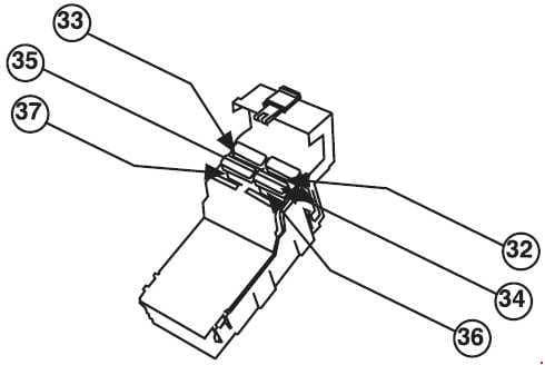 Iran Khodro Arisun - fuse box diagram - engine compartment