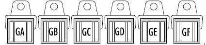 Iveco Stralis - fuse box diagram - remote switches