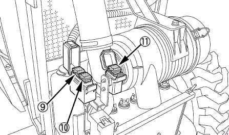 Kubota L4600 - fuse box diagram