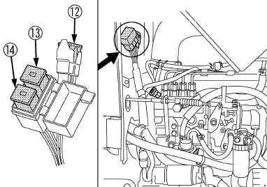 Kubota M7040SUHD - fuse box diagram