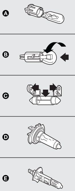 Lancia Musa - fuse box - bulbs