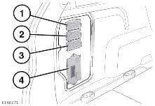 Land Rover Discover Sport - fuse box diagram - luggage compartment