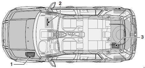 Land Rover Freelander (L359) - fuse box diagram - location