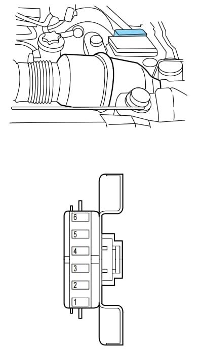 Lincoln Navigator I - fuse box - engine mini fuse box