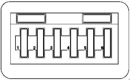 Mercedes-Benz Vaneo (w141) - fuse box diagram - light module fuse box