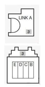 Nissan Micra - fuse box diagram - engine compartment (box on battery)