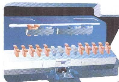 Peugeot 205 - fuse box diagram