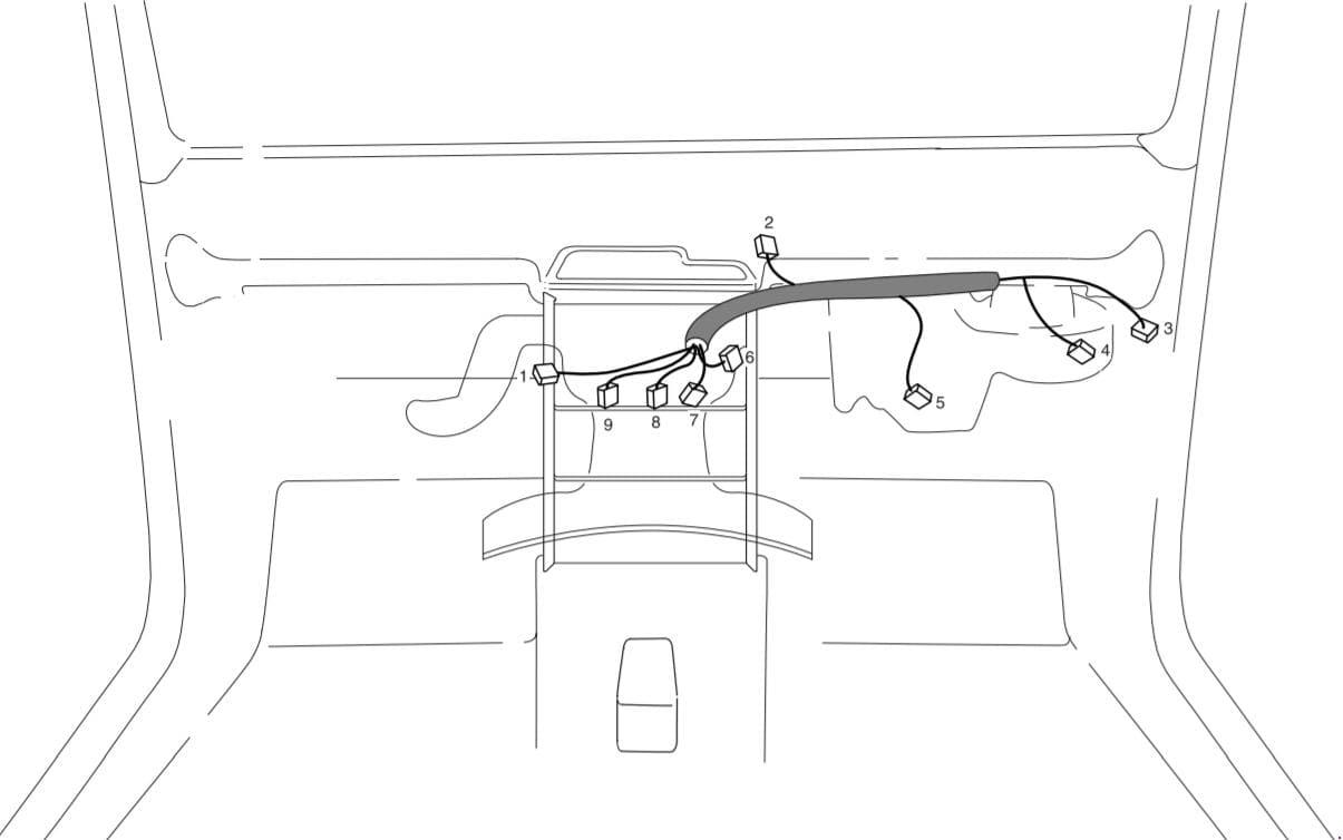 SsangYoung Korando - fuse box diagram - blower relay