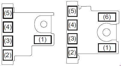 Suzuki Ciaz - fuse box diagram - engine compartment